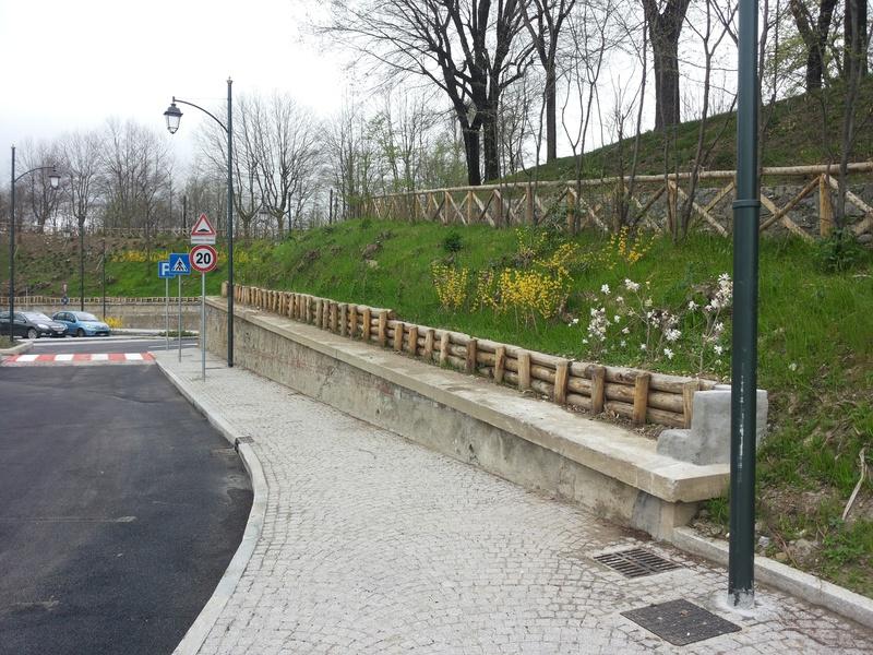 1 Parcheggio San Grato-Rivoli arredo verde Grua viabilità
