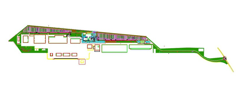 1 Stabilimento Alenia Winchester - Cameri Impinato irriguo grande parcheggio Grua