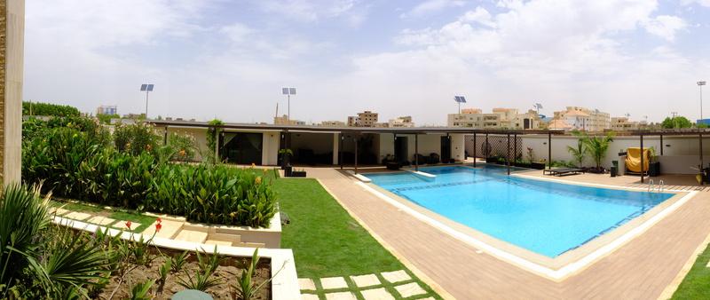 5 Villa privata Karthoum - Nord Sudan arredo verde giardini